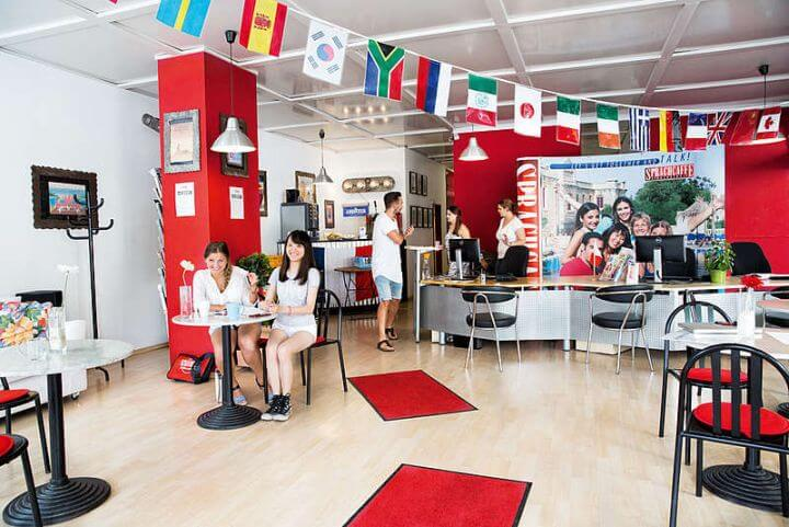 La escuela en Frankfurt te ofrece unas instalaciones modernas - Curso de alemán