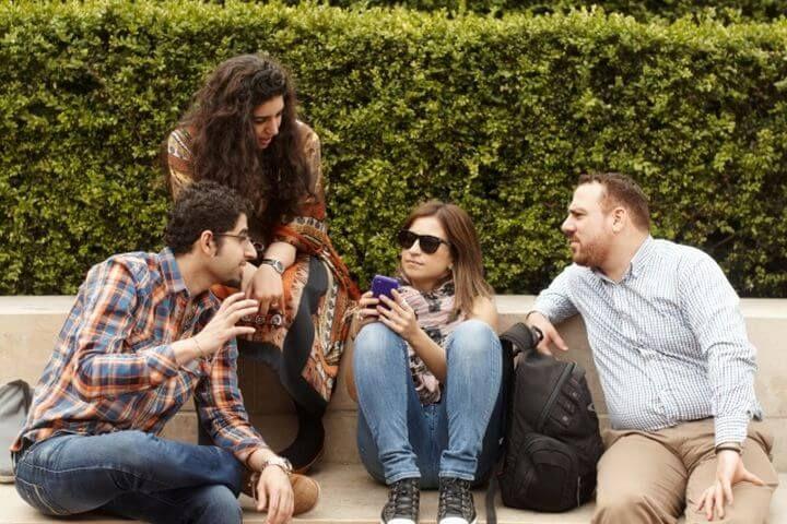 Estudiantes de todo el mundo - Comparte tu día a día en un ambiente internacional