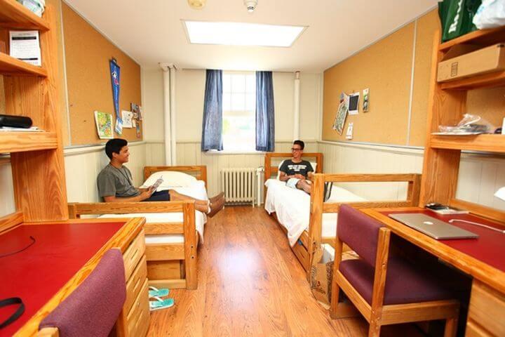Las habitaciones - La residencia tiene habitaciones amplias y cómodas