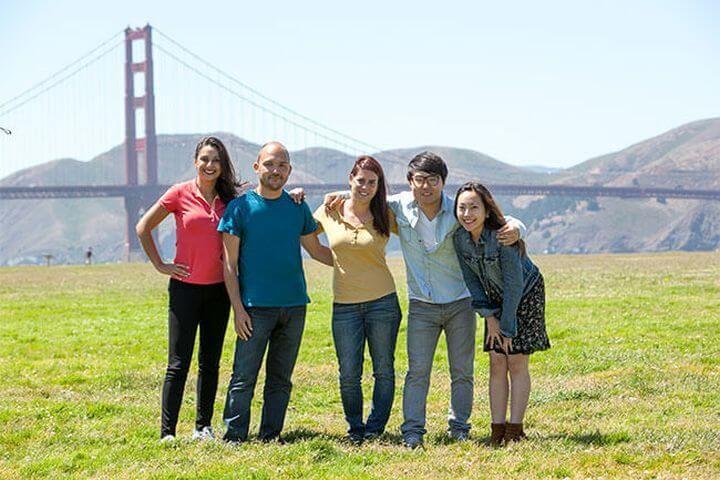 Golden Gate - Tiempo libre para conocer San Francisco con tus compañeros