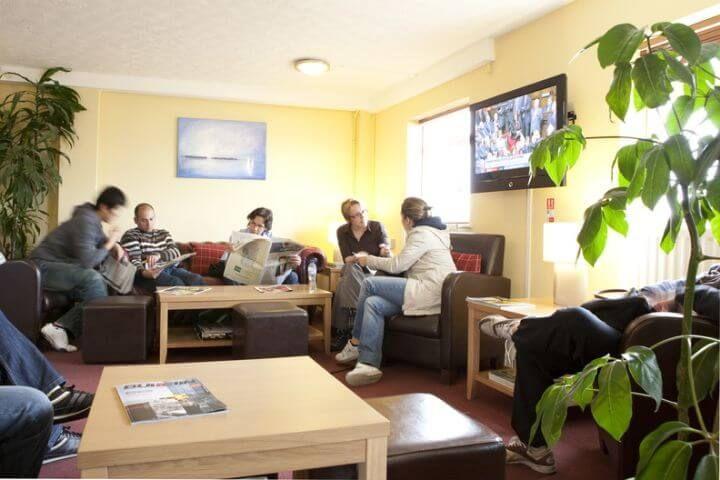 Área lounge - Instalaciones para el estudio y el ocio