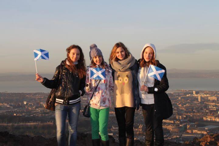 Escocia inolvidable - Disfruta con tu colegio o instituto de una ministay en Escocia: una experiencia inolvidable