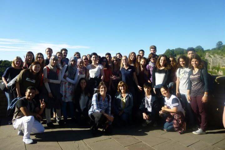 Alumnos de todo el mundo - Diferentes nacionalidades con un idioma compartido: el inglés