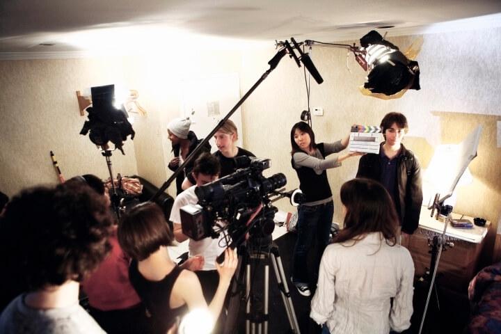 Clases de producción audiovisual -