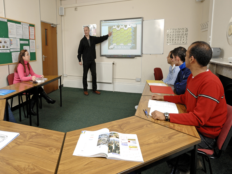 Sus aulas - Clases reducidas con material audiovisual