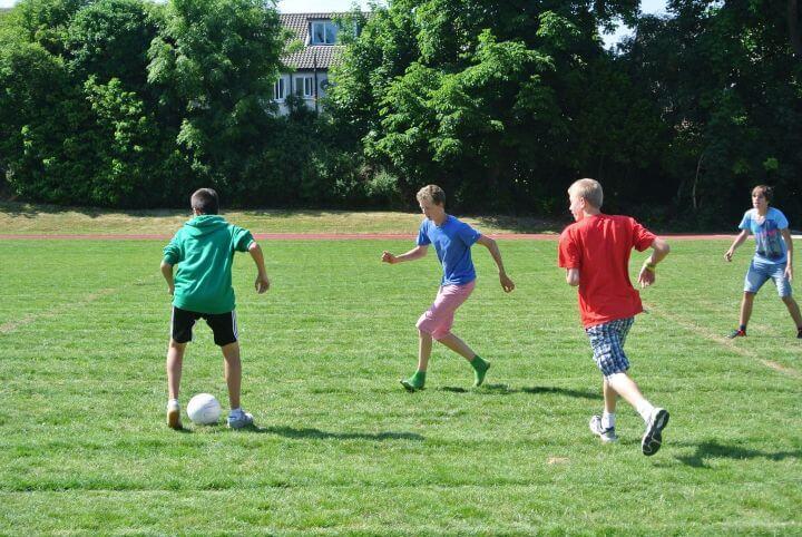 Campos de fútbol - Rathdown College, Dublin
