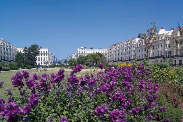 Naturaleza en la ciudad - Brighton está llena de paseos, parques y jardines