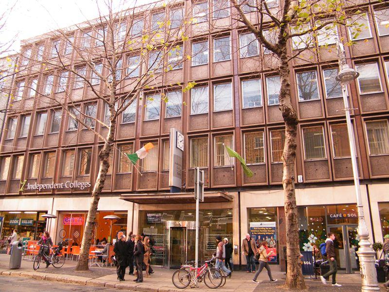 Edificio nuevo de la Escuela - Escuela IH Dublin, Irlanda