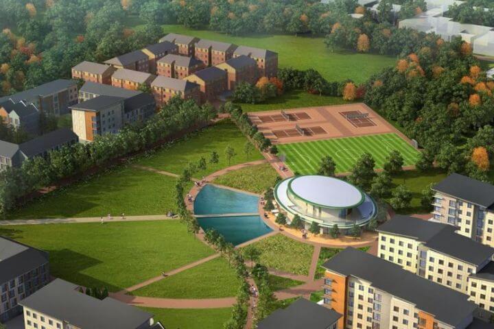El Campus, tranquilo y moderno, cerca de Londres -