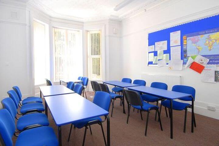 Aula de formación  - Curso de inglés de 20 lecciones semanales
