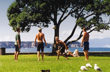 Sus parques  - Parques en Auckland