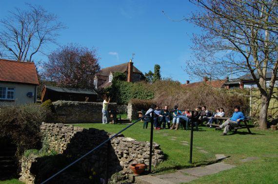 Patio y Jardín de la Escuela  - Patio y jardín de la escuela CES Oxford-Wheatley