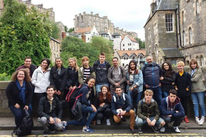 Estudiar inglés en el bonito centro de Edimburgo - La Escuela Edinburgh School of English, Edimburgo