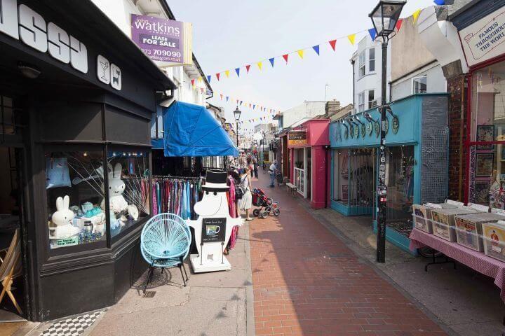 Mercadillos, bares y restaurantes - En Brighton no te aburrirás nunca