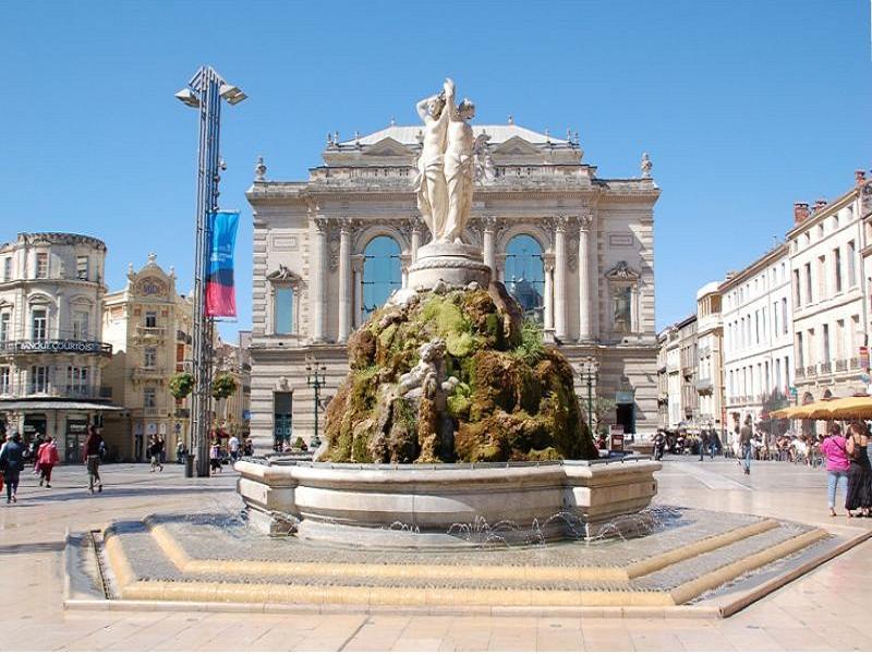 Montpellier: 300 días de sol al año - Estudia francés en Montpellier y disfruta del Mediterráneo y su buen clima con 300 días de sol al año, destino perfecto para una estancia de larga duración.