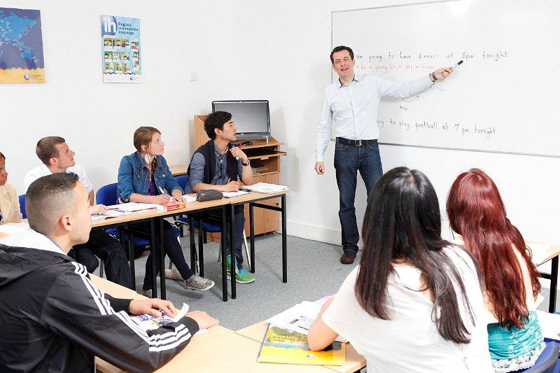 Aula de Formación - Escuela IH Dublin, Irlanda