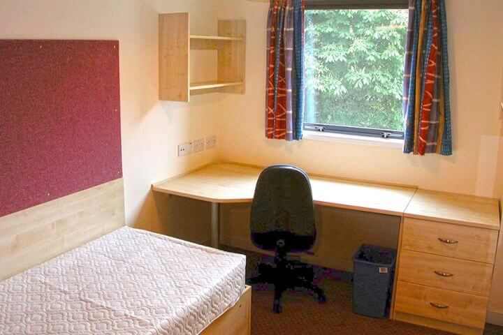 Las habitaciones en la residencia - Las habitaciones son todas privadas y cuentan con un baño completo