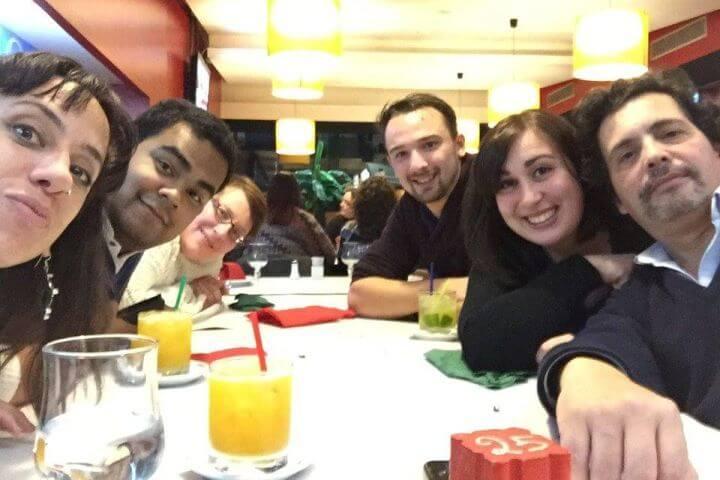 Ambiente internacional - Nuestra escuela de portugués es internacional: a ella acuden estudiantes de todo el mundo. ¡Practica portugués con gente que no habla tu idioma!