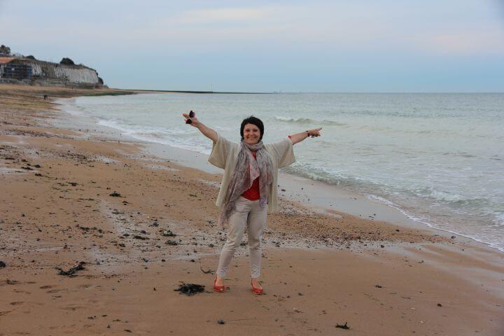 La playa - Ramsgate presume de costa, faro y puerto