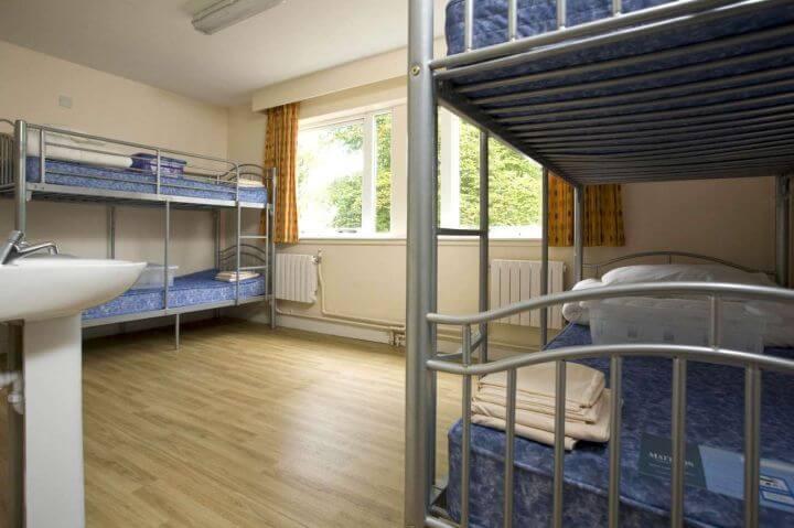 Los dormitorios - Alojamiento en residencia en habitaciones compartidas de 2 a 8 camas