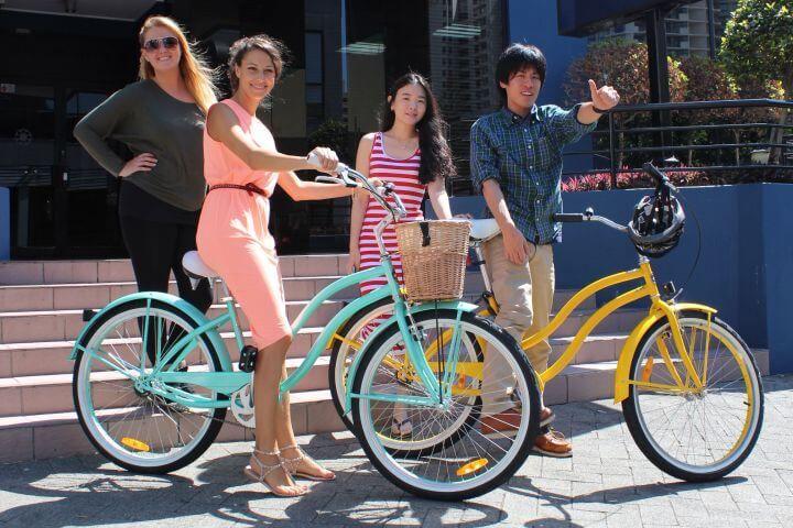 Alquiler de bicis - La escuela alquila bicis y tablas de surf