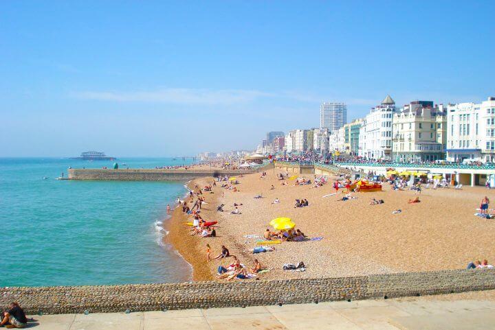 Brighton: destino de sol y playa - La ciudad más soleada del Reino Unido