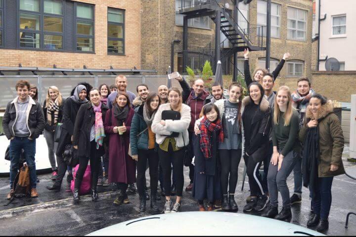 Alumnos de todo el mundo - Escuela internacioal con estudiantes de distintos países