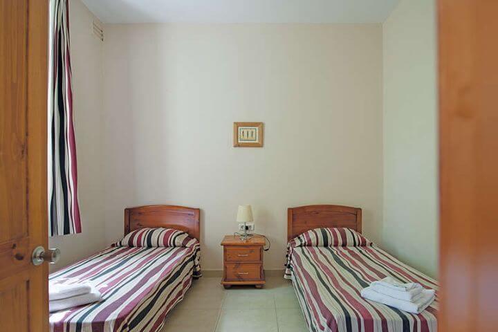 Las habitaciones - Las habitaciones en la residencia en Malta.