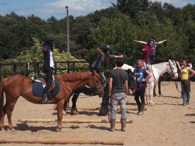 Como montar a caballo -