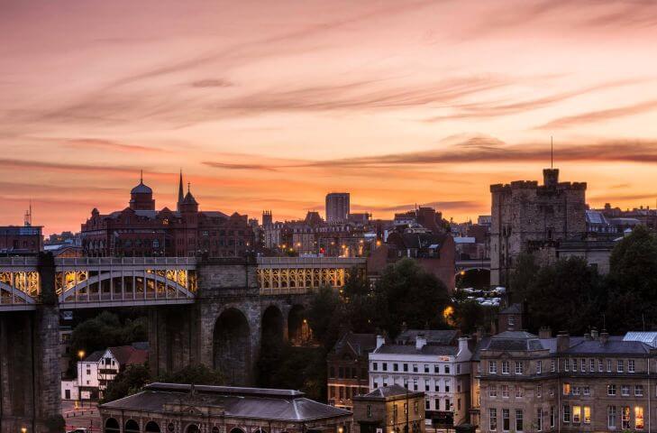 Newcastle, uno de los tesoros de Inglaterra -
