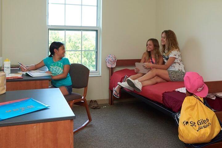 Las habitaciones en la residencia - Las habitaciones son amplias y cómodas