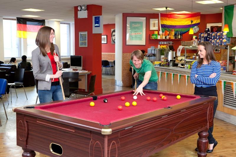 Instalaciones de la escuela - Escuela IH Dublin, Irlanda