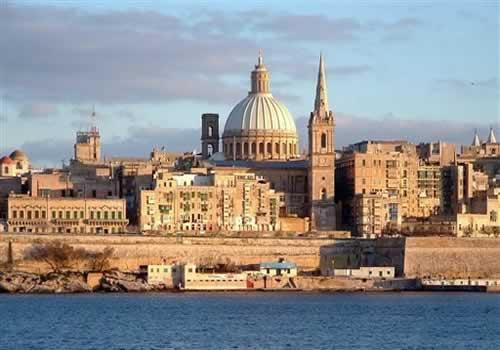 Valletta capital de Malta -