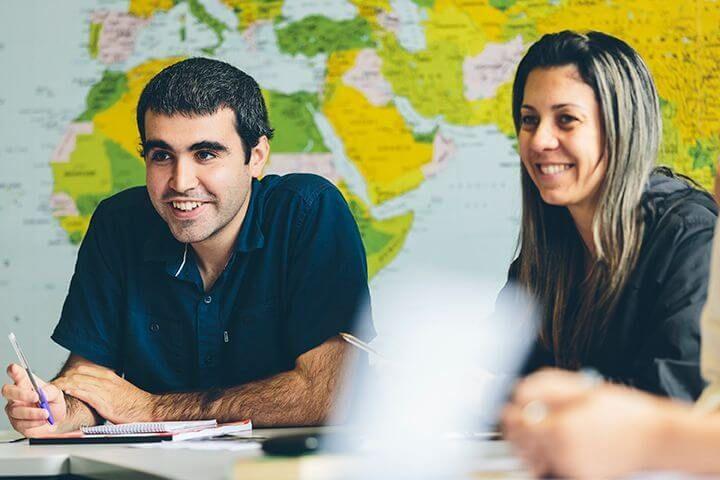 Alumnos internacionales - Estudiantes venidos de todo el mundo