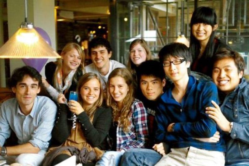 Alumnos de la escuela -