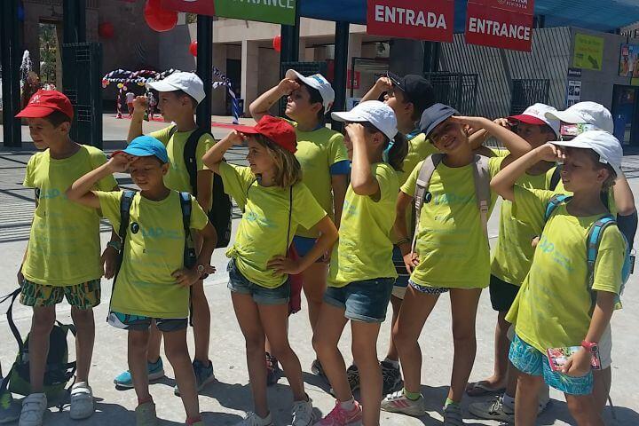 Dirigido a jóvenes entre 7 y 16 años - Ubicado en el Mediterráneo Alicante España