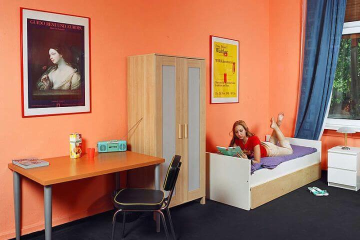 Diferentes opciones de alojamiento para los estudiantes. - Alemania Frankfurt