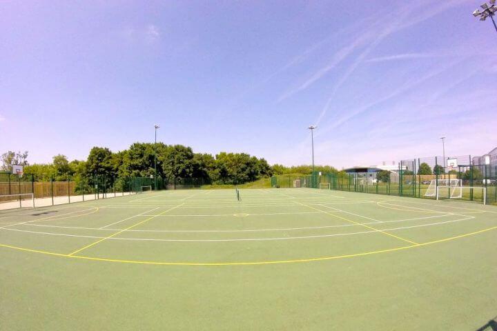 Instalaciones deportivas del campus - Hatfield Londres
