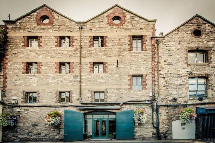 Edificio de la Escuela - Estudia inglés en Dublin