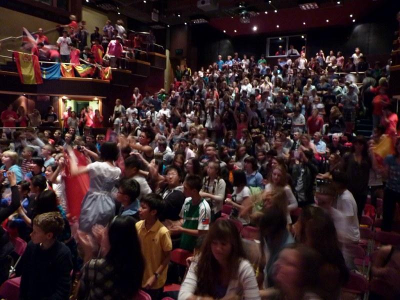 Fiesta en el teatro -