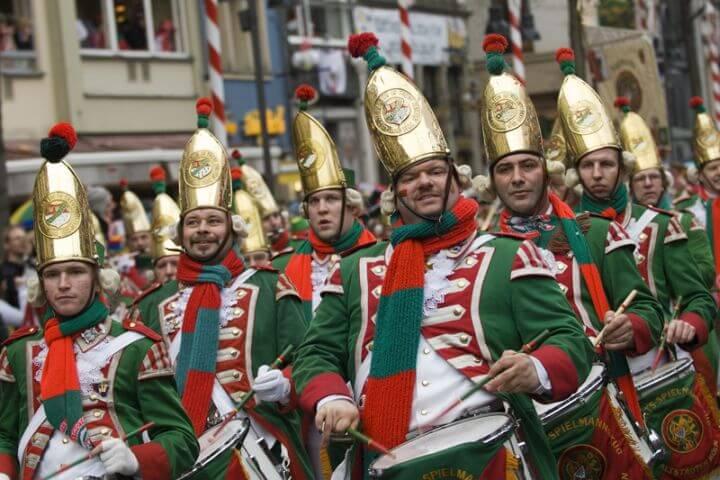 Famoso Carnaval de Colonia - Curso de alemán