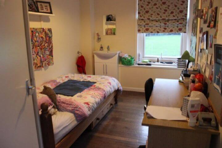 El alojamiento en la residencia - Habitaciones cómodas y privadas