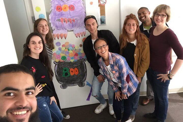 Estudiar con personas de varias nacionalidades - Escuela ELC Los Angeles