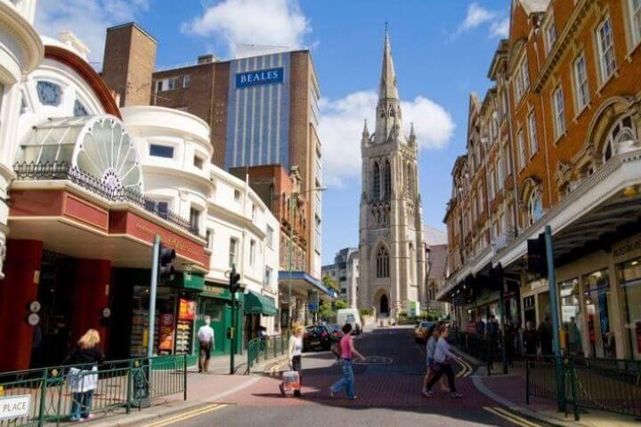 Bournemouth - Ciudad universitaria con mucha vida y encanto