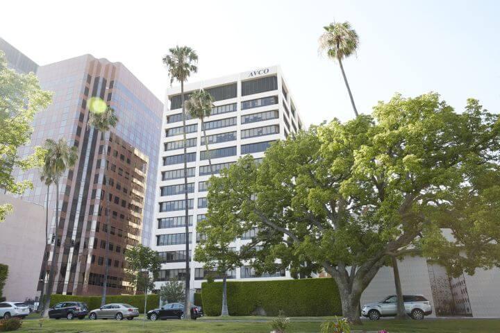 El edificio de la escuela - Los Ángeles UCLA